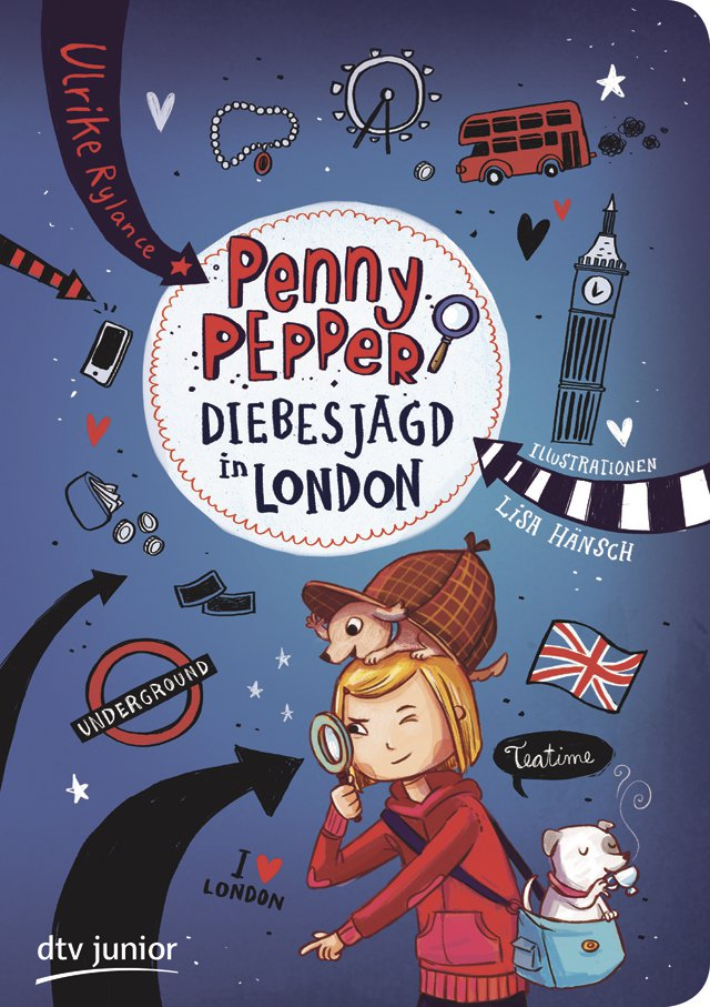 Penny Pepper - Diebesjagd in London